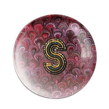 Alphachrome Glass Paperweight, S