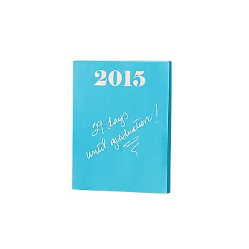 Ultra-Bright Notepad, Small, Turquoise