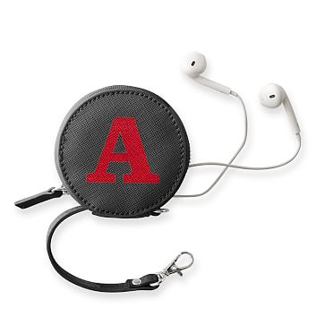 Colorfield Charger and Earbud Case, Gray