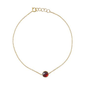 Ariel Gordon Semi-Precious Stone and 14 Karat Gold Bracelet, Ruby