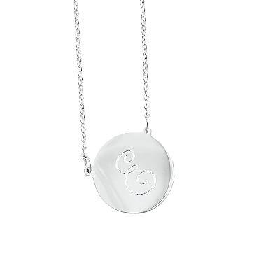Cara Disc Necklace, 17