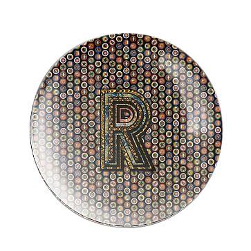 Alphachrome Glass Paperweight, R