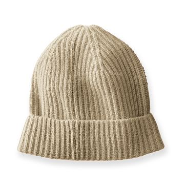 Cashmere Skull Cap, Camel