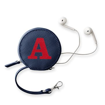 Colorfield Charger and Earbud Case, Navy