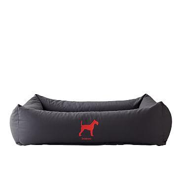 Sleepy Dog Bed, Classic, Stone Gray, Large