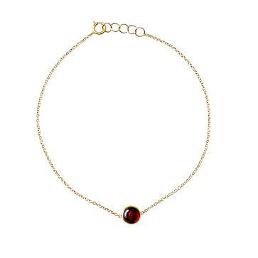 Ariel Gordon Semi-Precious Stone and 14 Karat Gold Bracelet, Garnet