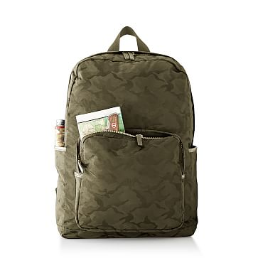 Camouflage Backpack, Green