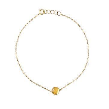 Ariel Gordon Semi-Precious Stone and 14 Karat Gold Bracelet, Citrine