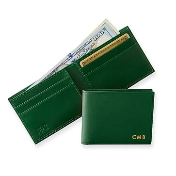 Westbury Bifold Wallet, Racing Green