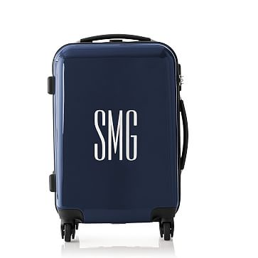 Carry-On Spinner Luggage, 22 inches, Navy