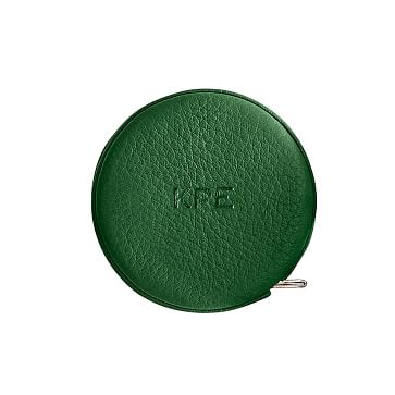 Leather Tape Measure, Kelly Green