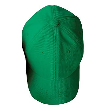 Adjustable Twill Baseball Hat with Patch, A, Kelly Green with Navy