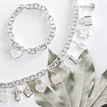 Classic Charm Bracelet, Sterling Silver