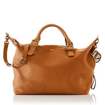 Brooklyn Buckle Bag, Tan