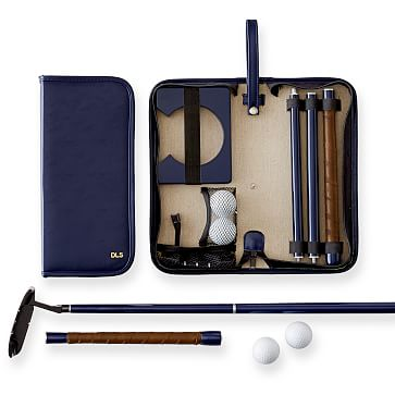 Travel Putting Set, Navy