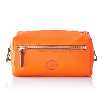 Vibrant Travel Pouch, Orange