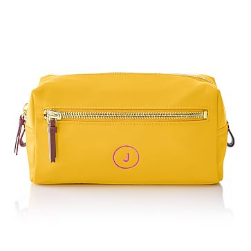Vibrant Travel Pouch, Yellow