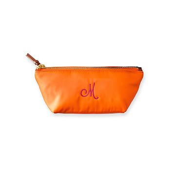 Vibrant Cosmetics Case, Orange