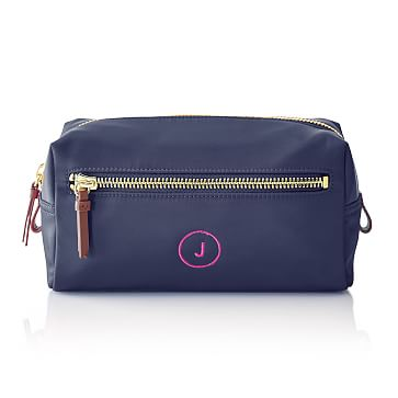 Vibrant Travel Pouch, Navy