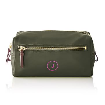 Vibrant Travel Pouch, Racing Green