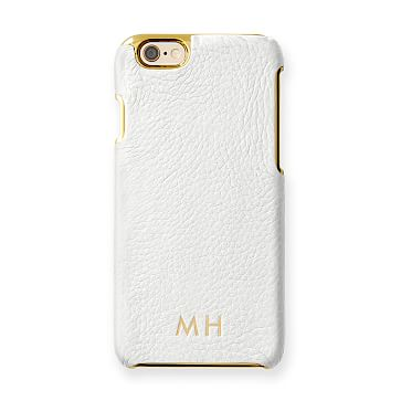 Vivid Leather iPhone 6 Case, White