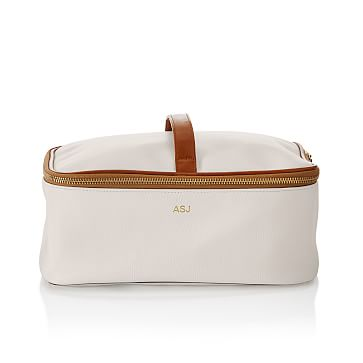 Concourse 2-in-1 Cosmetic Case, White