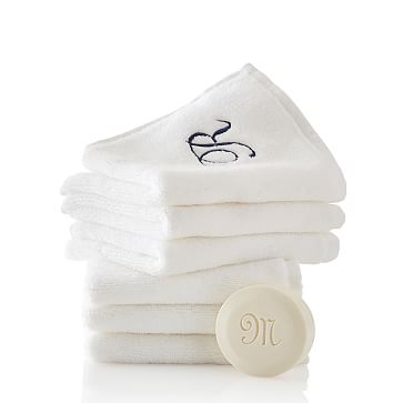 Hydro Cotton Washcloth Set, White