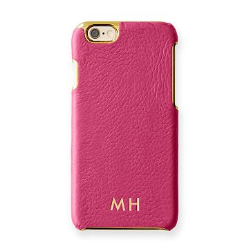 Vivid Leather iPhone 6 Case, Pink