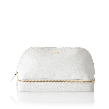 Dual Travel Organizer, White