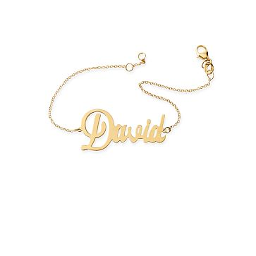 Ava Cutout Chain Bracelet, 18kt Gold Plate
