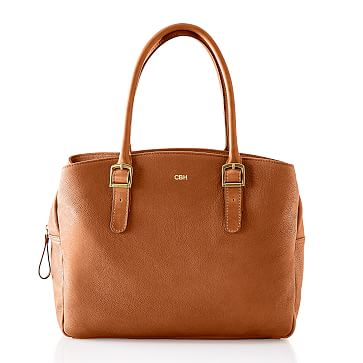 Brooklyn Boardroom Bag, Tan