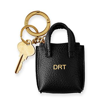 Daily Tote Keychain, Black