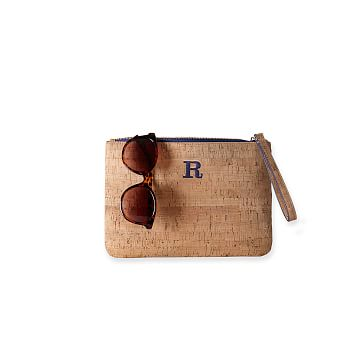 Cork Zip Pouch, Natural