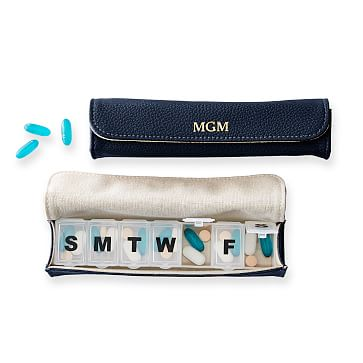 7-Day Pill Case, Navy