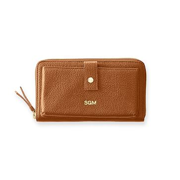 The Daily Wallet, Leather, Camel