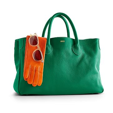 The Elisabetta Slouch Handbag, Kelly Green