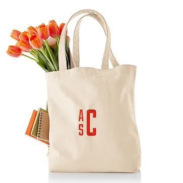 Essential Canvas Tote, Natural