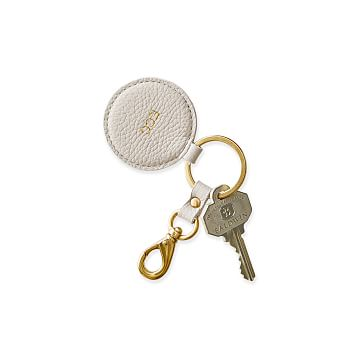The Daily Key Fob, Leather, Stone