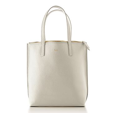 The Daily Tote, Leather, Stone