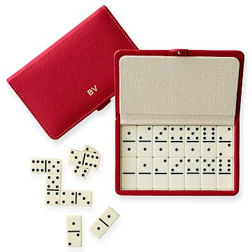Travel Domino Set, Red