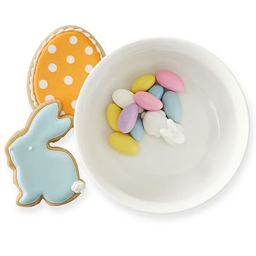 Jelly Bean Hidden Bunny Bowl, White