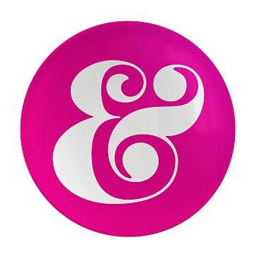 Morla Paperweight, Ampersand, Pink