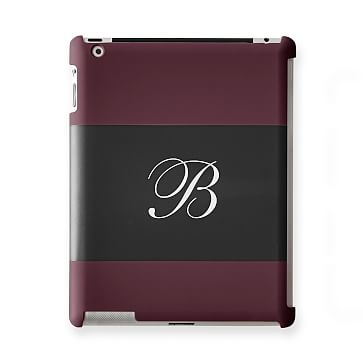 Pattern iPad Case, Horizontal Plum