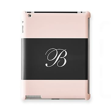 Pattern iPad Case, Horizontal Blush