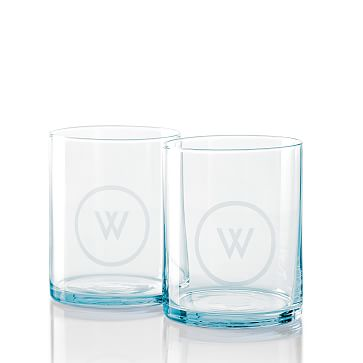 Everyday Glass DOF, Set of 4, Smoky Blue