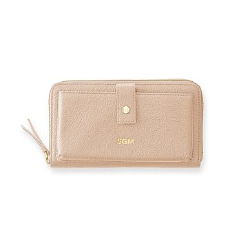 The Daily Wallet, Leather, Blush
