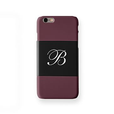 Pattern iPhone 6 Case, Horizontal Plum