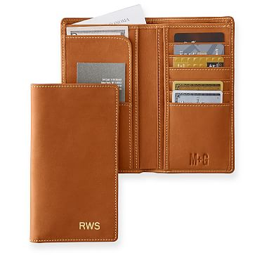 Breast Pocket Wallet, Camel