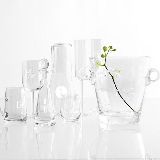 Classic hand blown stemless wine glass mark and graham - Hand blown stemless wine glasses ...