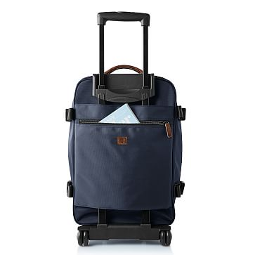 Rolling Utility Nylon Carry-On, Navy